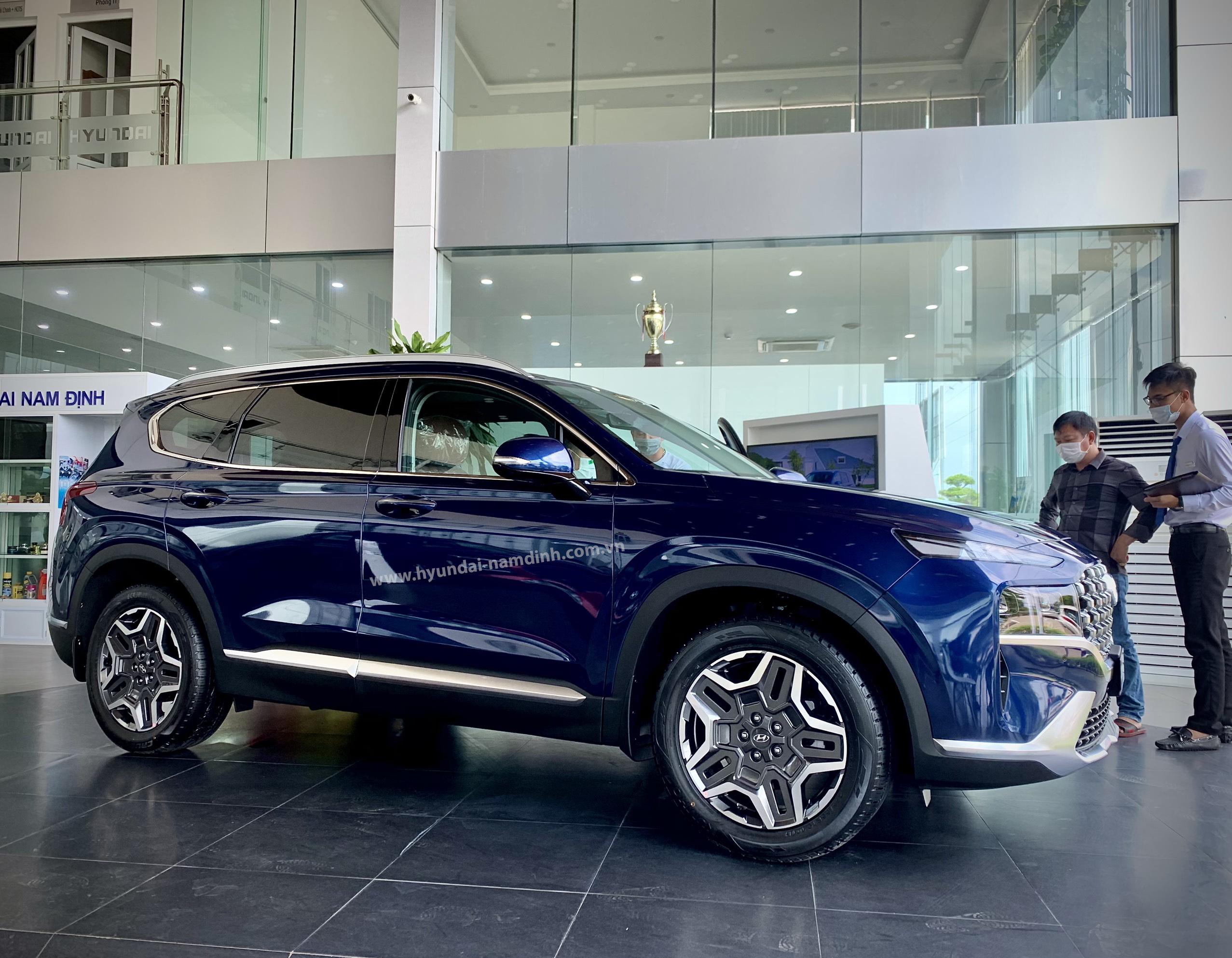 Liên hệ ngay Hyundai Nam Định để được tư vấn về Santafe 2021