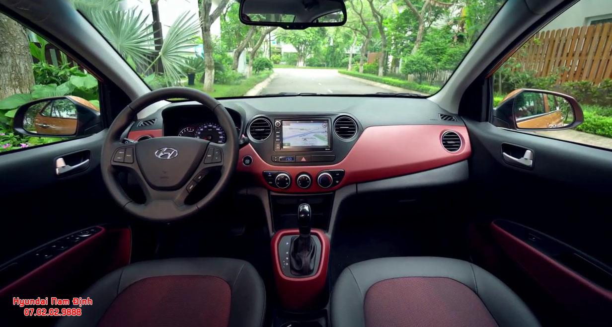 Hyundai Grand i10 tại Hyundai Nam Định