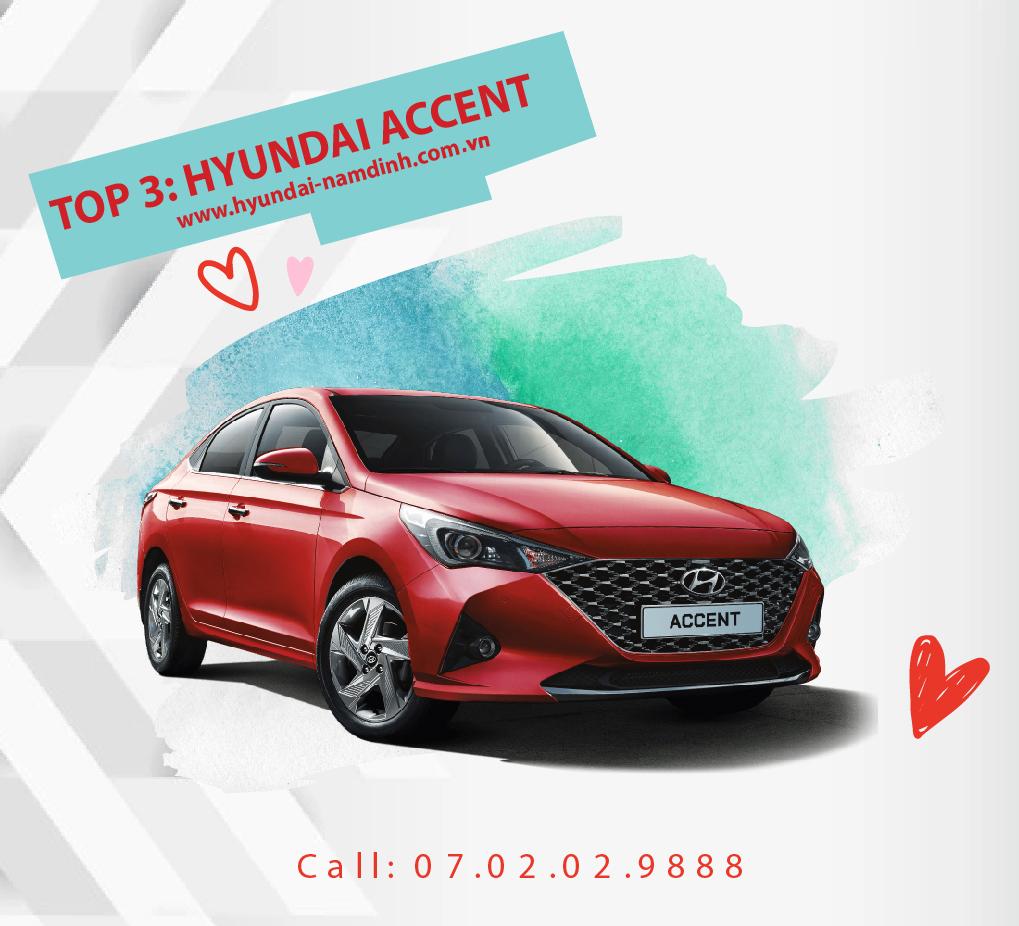 Hyundai Accent luôn giữ vững phong độ của mình