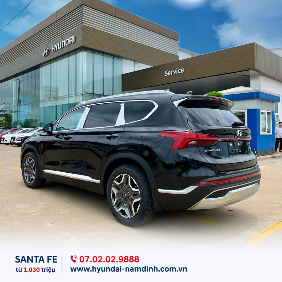 Ưu đãi giảm giá xe áp dụng với cả siêu phẩm Santa Fe